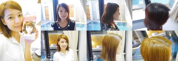 【玩髮】小資女自己D.I.Y染髮初體驗就選擇卡樂芙優質染髮霜《可可棕色》