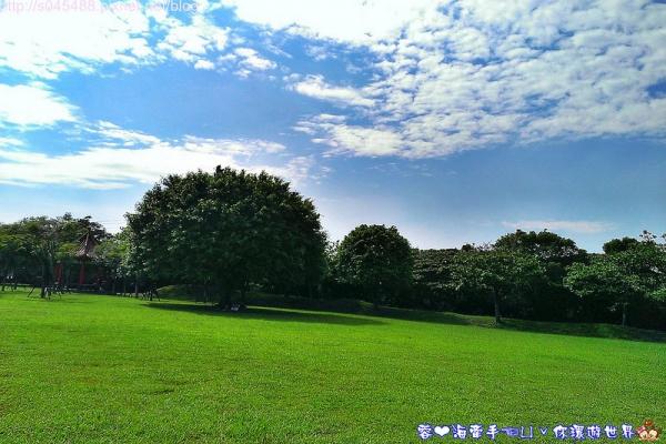 【桃園▍親子旅遊】大溪埔頂公園ღ家裡附近的公園,宛如開機畫面般的風景