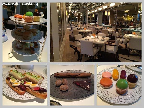 [台北] 台北文華東方酒店Cafe UN DEUX TROIS奢華下午茶