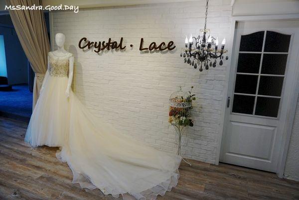 [喜喜] 結婚最夢幻的環節之自助婚紗Part1-- Crystal Lace 水晶蕾絲手工婚紗