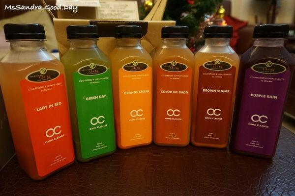 [試用] 輕排毒體內環保好選擇 - OC新鮮冷壓蔬果汁