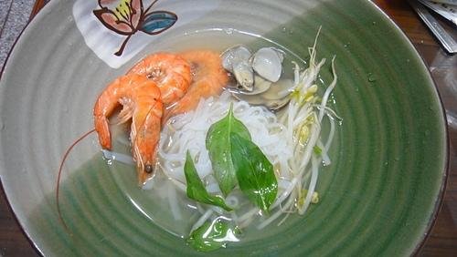 輕食晚餐 -海鮮蒟蒻麵