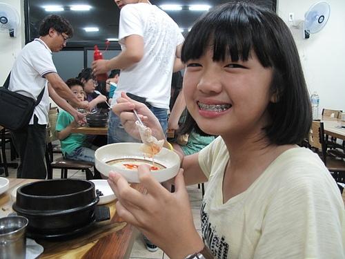 20120720濟洲島黑豬肉涮涮鍋+石鍋拌飯