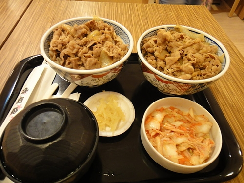 牛肉料理--吉野家之牛丼