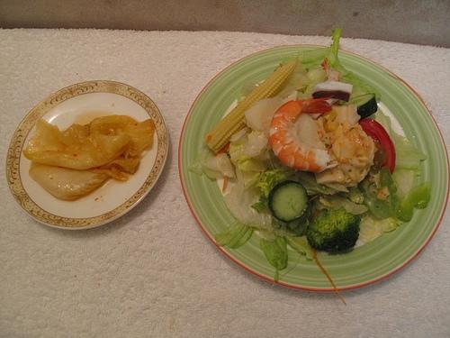 輕食晚餐-沙拉國王綜合海鮮沙拉