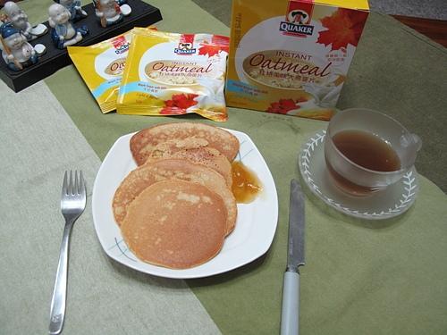 簡單健康I自製燕麥片鬆餅
