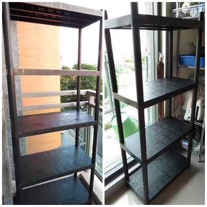 【特力屋】KETER塑鋼四層架.五層架-居家輕鬆好收納