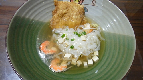 輕食午餐--日式柴魚豆皮蒟蒻麵
