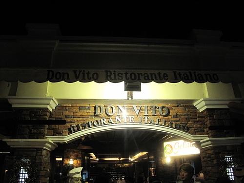 20141122長灘島DONVITO義式晚餐(純記錄)