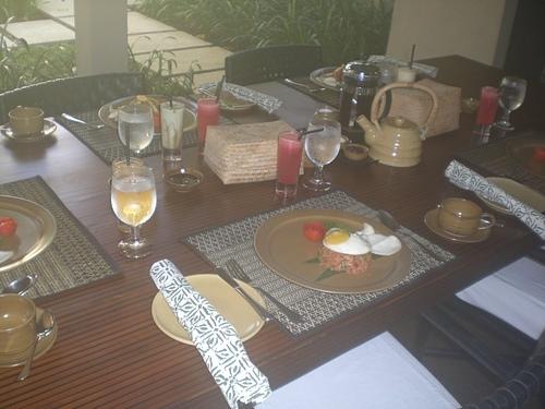 990510巴里島肉桂剛薩The Gangsa villa 豐盛早餐