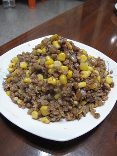 洋葱玉米肉燥