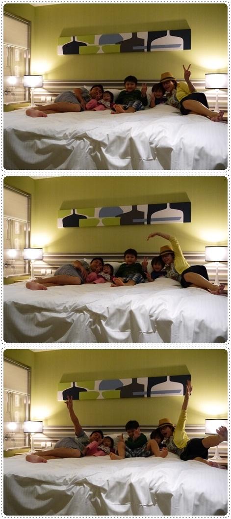 【體驗試住】讓一家五口都住得滿心歡喜的成旅晶贊飯店台中館