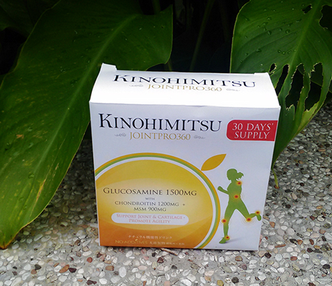 星馬熱銷品牌【Kinohimitsu】捷步-葡萄糖胺 讓我有走跳自如の靈活人生