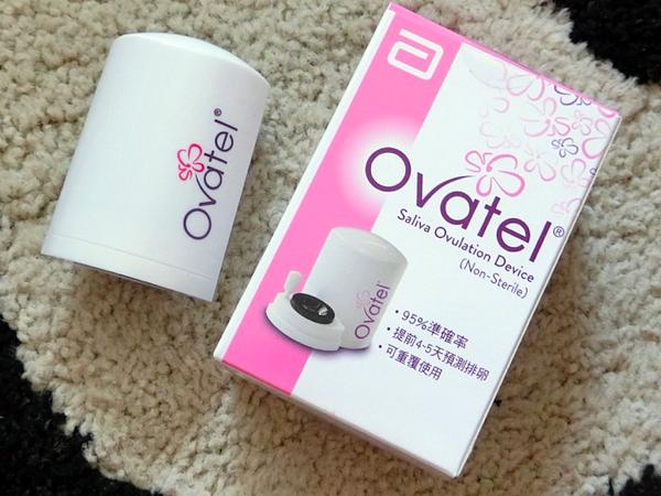 【亞培】優譜OVATEL唾液微型排卵鏡檢器,能夠提早五天預知排卵日