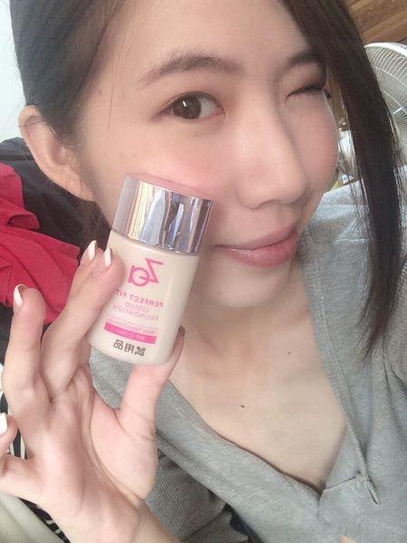 [彩妝]♥♥ Za裸粧心機輕潤粉底液,天天都是我的熱戀期(熱戀妝)