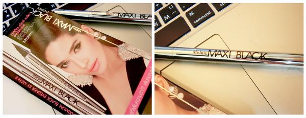 [彩妝]♥♥ 泰國彩妝品牌Mistine/Maxi Black 魅力四射全效眼線液筆,100%防暈染防水防油