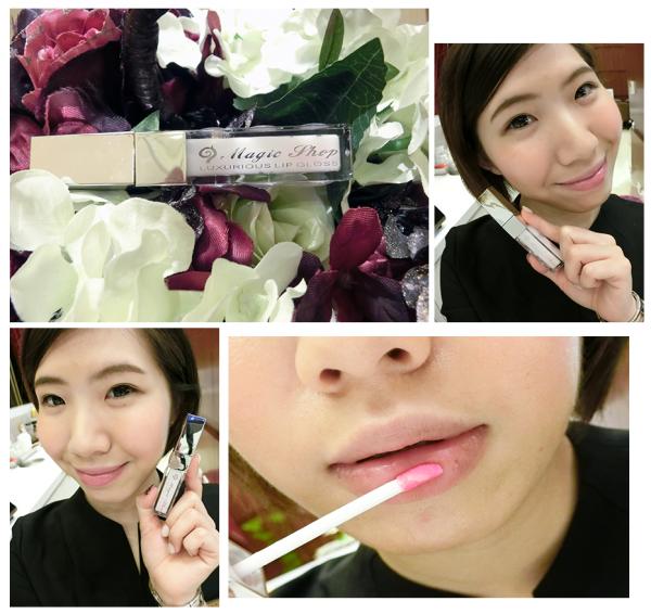 [唇妝]♥♥懶人必備簡單擁有自然唇色,清爽無負擔,絕對不會掉色呢「Magic shop-櫻花嫩紅素」