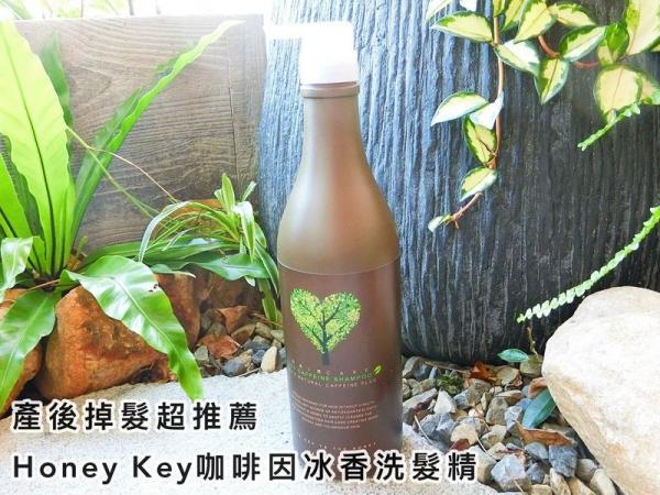[洗髮]產後掉髮超推薦-Honey Key咖啡因冰香洗髮精