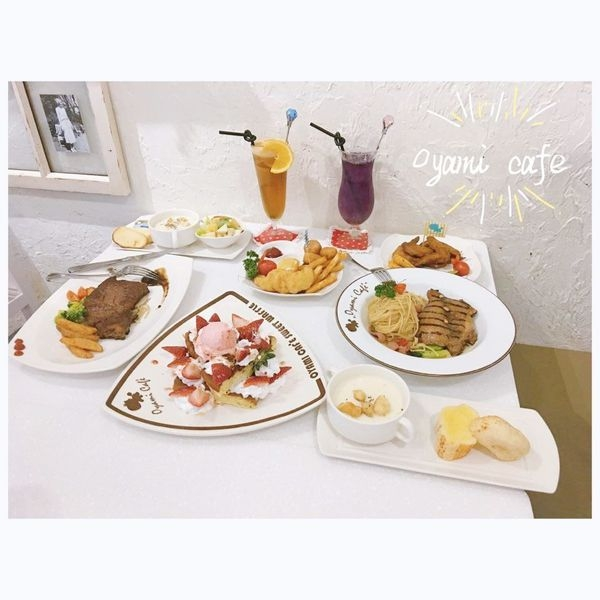 (美食)新北板橋 「OyamiCaf'e 新埔店」板橋美食打卡下午茶再一發!義大利麵、鬆餅、排餐都好吃!