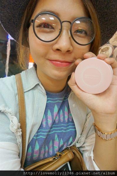 (體驗)妝感持久透亮八效合一♡打造無暇肌!::BeautyMaker零油光晶漾持妝氣墊粉餅::