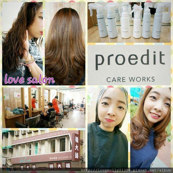 (美髮)北市師大 為毛躁秀髮注入新生命♥::Love Salon Proedit頂級沙龍養護系列::