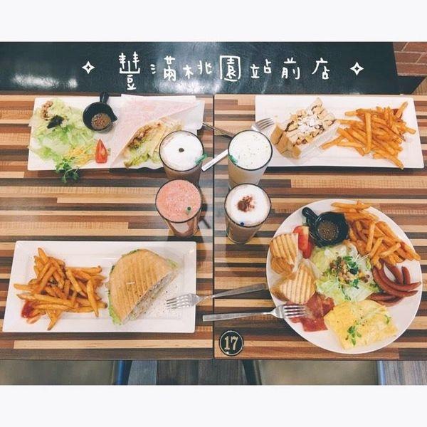 (美食)桃園市區 「豐滿 桃園站前店」桃園早午餐、咖啡、下午茶推薦!豐滿的一天從早餐開始!