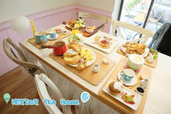 (美食)北市大安 「禾.多HERDOR Tea House」東區早午餐/下午茶/花茶餐廳推薦!超少女心美味餐點在這裡!