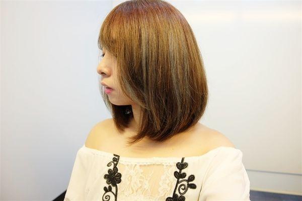 (美髮)北市師大 「Lusso Hair 師大2店」空氣瀏海初體驗!超夢幻低調海洋藍好美!