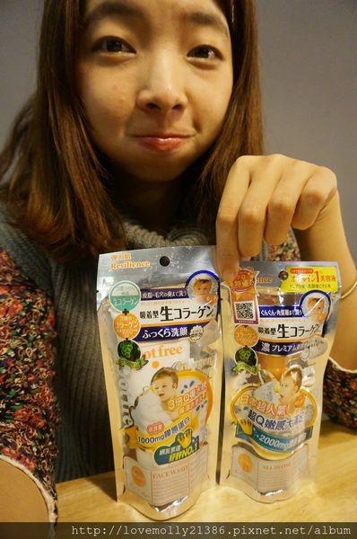 (體驗)精油美容法♡簡單效率保養好物!::日本Dot free天使肌水膠原蛋白洗面乳+美容液::