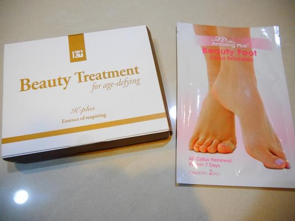 【保養】從頭美到腳~ [女神奇肌]水光針注入式保濕面膜推薦+去腳皮足膜,似如柔嫩少女腳ㄚ。
