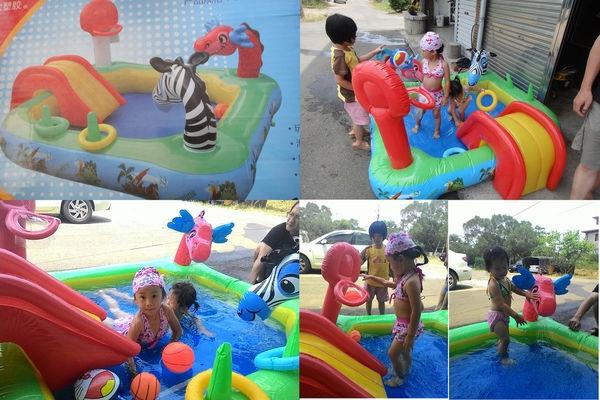【育兒私物】炎夏玩水打發假日時光最佳良伴∼多功能兒童戲水池