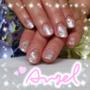 [光療指甲]用雪花與天使一起感受冬天的氛圍