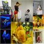 ♥展覽♥▋華山1914文創園區-Dark Art.3D夜光藝術展▋探訪3D立體畫+夜光特效的神奇魔力