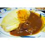 【大阪】將近百年的蛋包飯老舖.オムライスの北極星蛋包飯