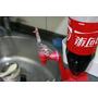 汽水飲料可樂瓶倒置飲水機 開關飲用器 入手