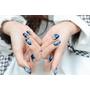 【光療】華麗寶石夜空藍