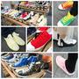 Burnetie。美國主流休閒鞋。色彩鮮艷。款式花俏的潮流帆布鞋推薦。讓人每一雙都想要買回家搭配著。