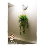 靚媽咪的甜蜜小屋 營造田園愜意 人造垂藤-小漿果錐形吊盆+6花大朵向日葵盆