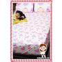 小公主們的甜蜜閨房-細緻舒適的甜蜜芭蕾防抗菌雙人床包+枕套