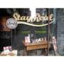 東區潮牌咖啡館StayRealCafe♥跟五月天阿信喝咖啡)))