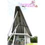 【苗栗】青青草原上怎麼停了一架大型紙飛機ღ自然風情-風箏餐廳