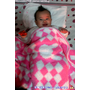 【體♥驗】(微笑MIT)Laramei/華耀-兔寶寶暖暖毯ღ暖乎乎~陪小伊亞渡過今年的冬天
