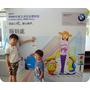 帶孩子參加BMW兒童汽車交通安全體驗營外加被格友認出來了!