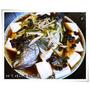 『食譜』自宅私房料理-清蒸豆豉珍珠石斑魚、醬燒豆干肉絲、甜不辣黑木耳炒高麗菜與香菇白蘿蔔雞湯