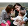 超視不正常事件研究中心現場花絮、蘋果日報親子寶貝專訪側拍、媽咪寶貝的全家福出刊嚕!