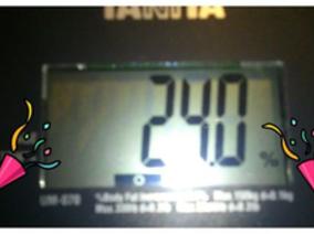 體脂肪24了~進入減肥後的維持期!