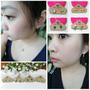 《配件》小巧又精緻的貼耳環 沒耳洞也能帶!!!Mrs.Yue 飾品屋♥精緻手工耳環 小孩也能帶♥