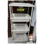 [HOLA列印到店折扣券]家庭的絕對收納!!日本IRIS四層細縫架 組裝穩固超強收納架