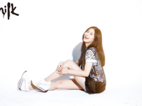 《MILK》潮流誌2014年 #082 Milk Girl-Shiny 姚奕晴