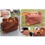 老師傅精緻打造的MIT手工包~【KULOI】垂墜感個性帆布包(咖啡色)